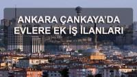Ankara Ek İş İmkanları