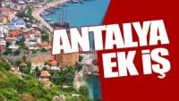 Antalya Ek İş İmkanları