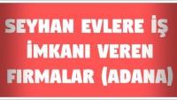 Seyhan Evlere İş Veren Firmalar (Adana)
